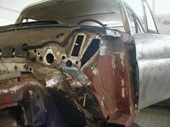 Restoration Mercedes Benz W111 280SL 35L Coupe